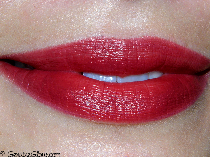 Ilia Beauty Femme Fatale lipstick Swatches Review Photos Ingredients