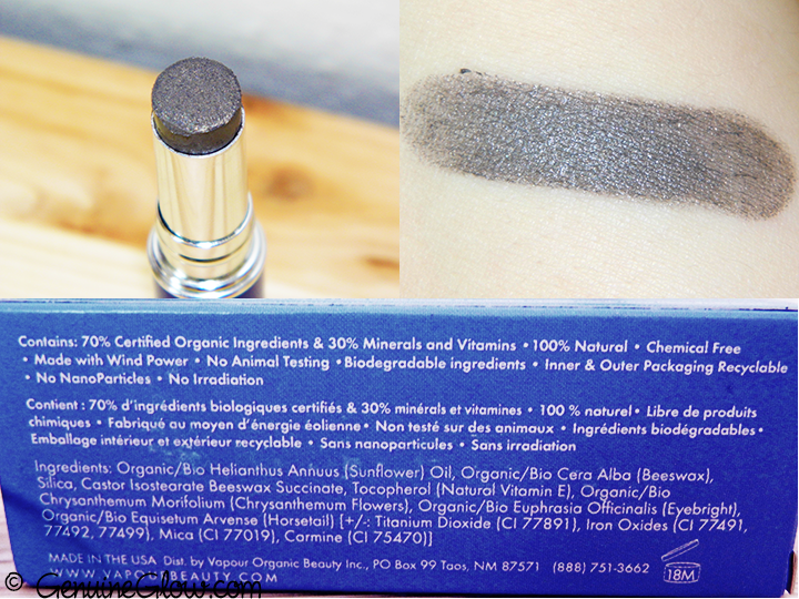 Vapour Organic Beauty Mesmerize Storm Swatches Review