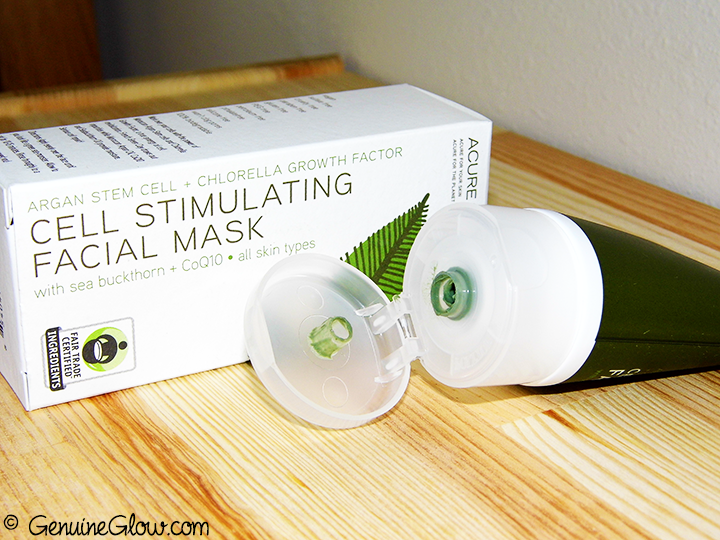 Acure Organics Cell Stimulating Facial Mask Reviews