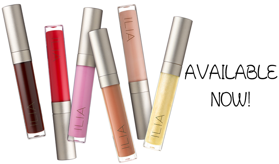 ILIA BEAUTY LIP GLOSSES NEW