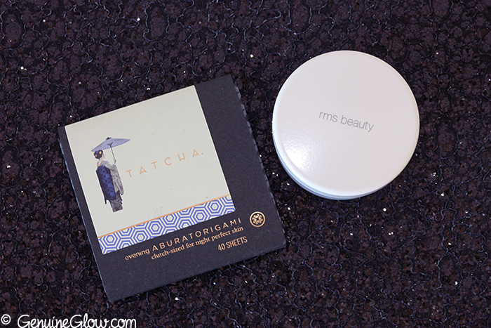 Tatcha Blotting Papers RMS Beauty Un Powder