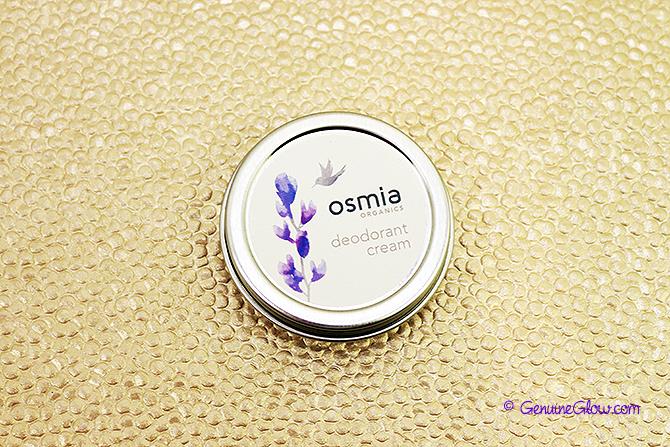 Osmia Organics Deodorant Cream