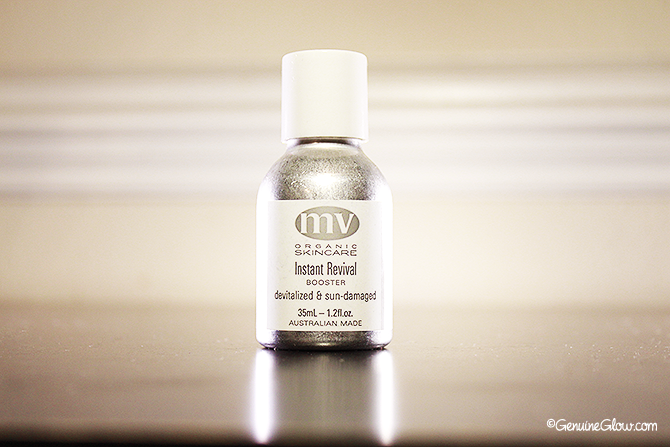 MV Skincare Instant Revival Booster Review