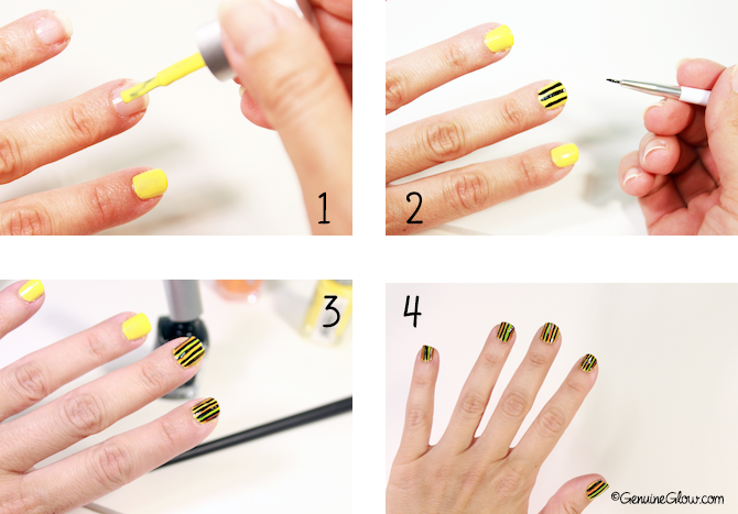 Priti nyc nail art for oscar carvallo spring 2014 genuine glow priti nyc oscar carvallo nail art tutorial prinsesfo Image collections