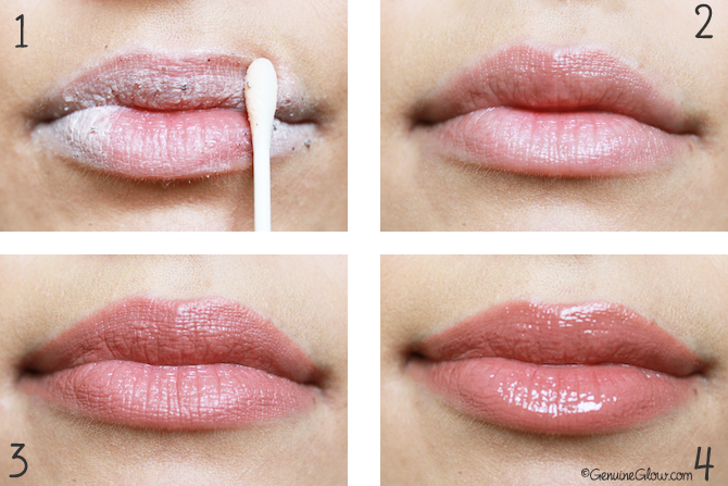 Red Apple Lipstick review