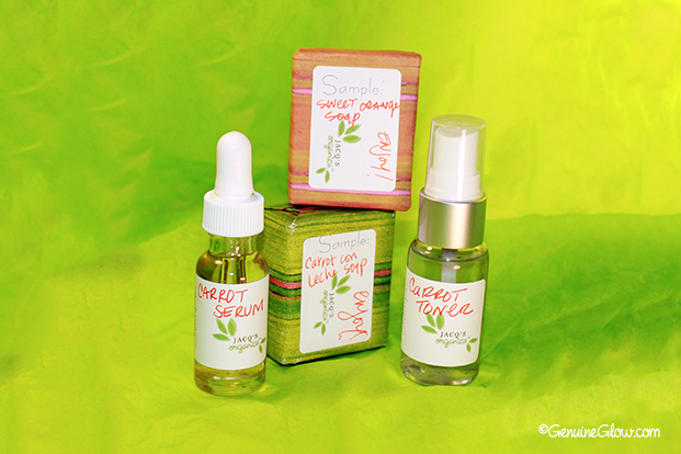 Jacq's Organics Carrot Con Leche Skin Care Set