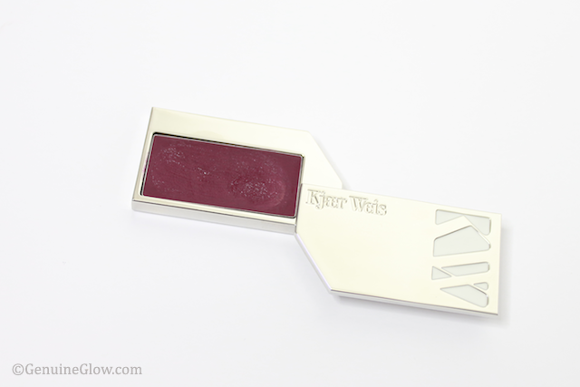 Kjaer Weis Lip Tint Beloved Swatches Reviews with logo
