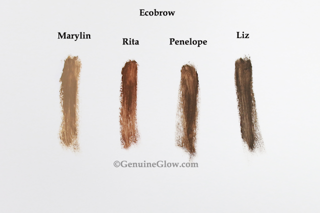 Ecobrow Swatches Reviews