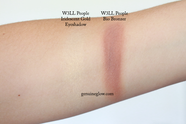 W3LL People Bronzer Swatches copy