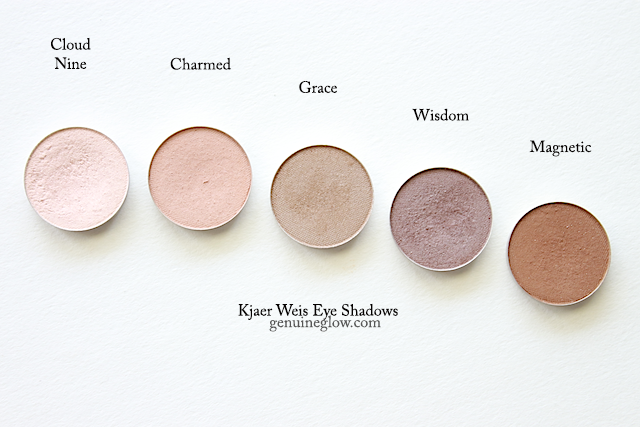 Kjaer Weis Eye Shadow Review Swatches copy