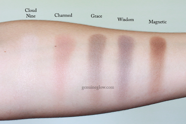 Kjaer Weis Eye Shadows Swatches