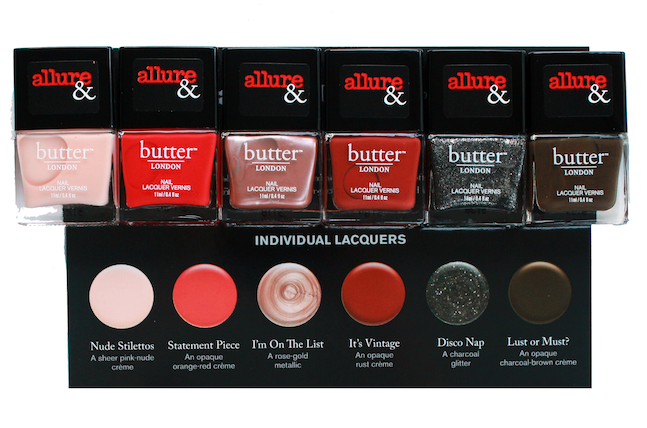 #ManiMonday Allure X Butter London Arm Candy Nail Polish Collection