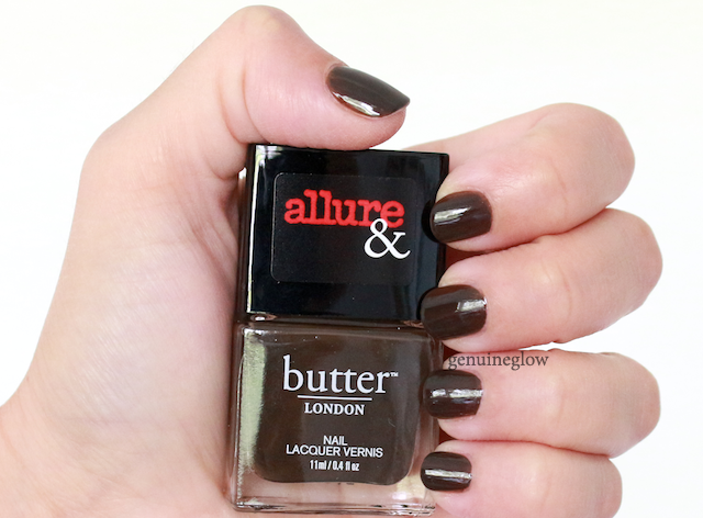 Butter London Lust or Must? Text