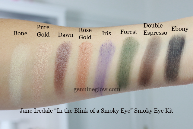 Jane Iredale Palette Swatches copy