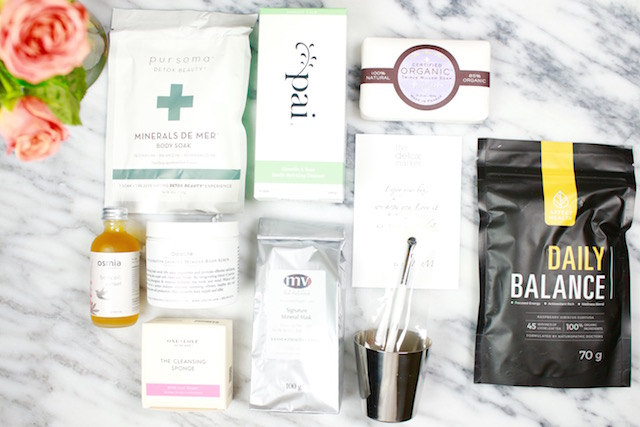 Detox Market Spring Beauty Box Reviews