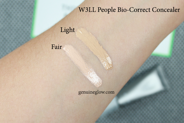 W3LL PEOPLE Concealer Swatches Review copy