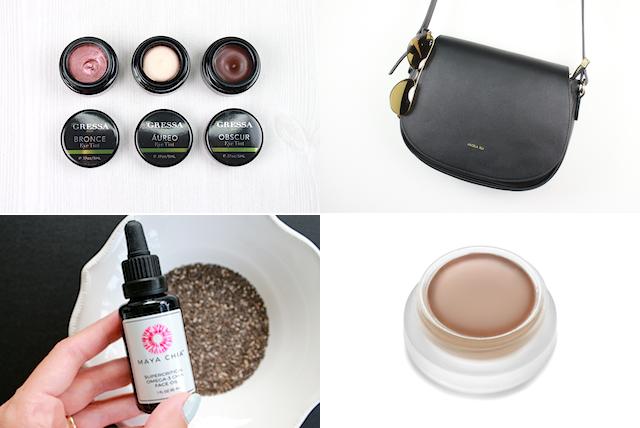 Catchup 63 RMS Beauty Spell Gressa Eye Tints Maya Chia Face Oil Angela Roi Handbags