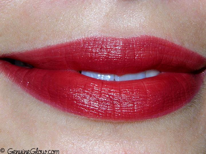 Ilia Beauty Femme Fatale lipstick Swatches Review Photos Ingredients