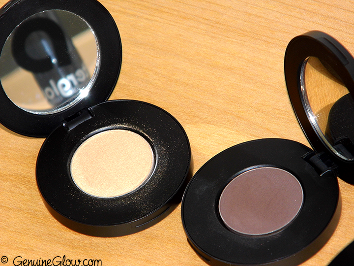 Afterglow Cosmetics New Organic Infused Eco Eye Shadow Swatches Review Photos Still Life Baroque