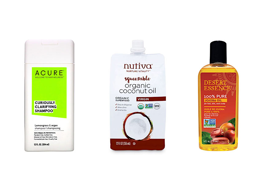 organic hair care routine