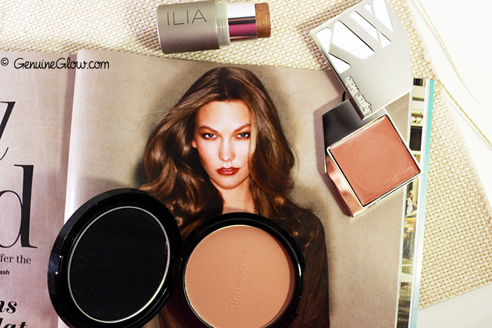 Dr.Hauschka Bronzing Powder, Kjaer Weis Desired Glow, Ilia Beauty Sway