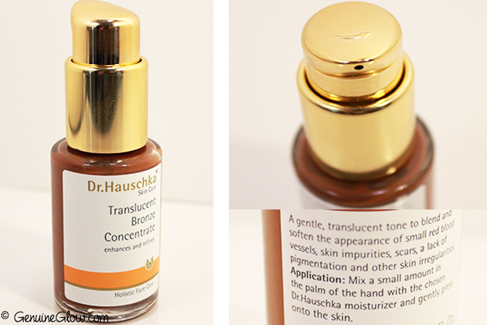 Dr.Hauschka Translucent Bronze Concentrate Photos Review