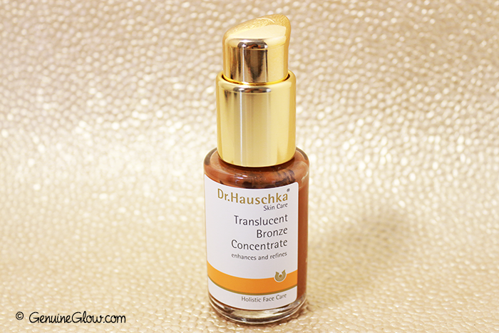 Dr.Hauschka Translucent Bronze Concentrate Reviews Photos Swatches