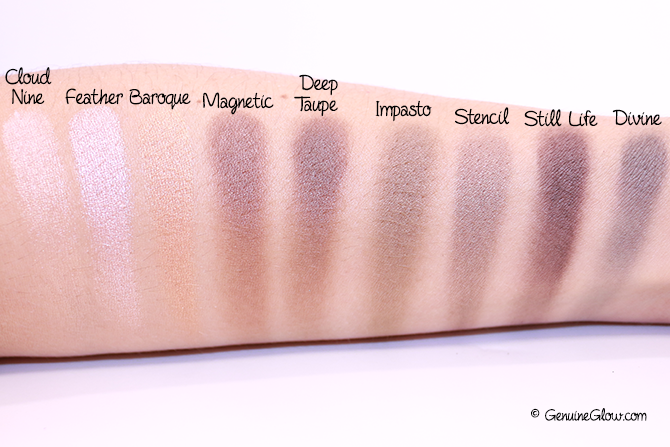 What's In My Z-Palette Eye Shadows