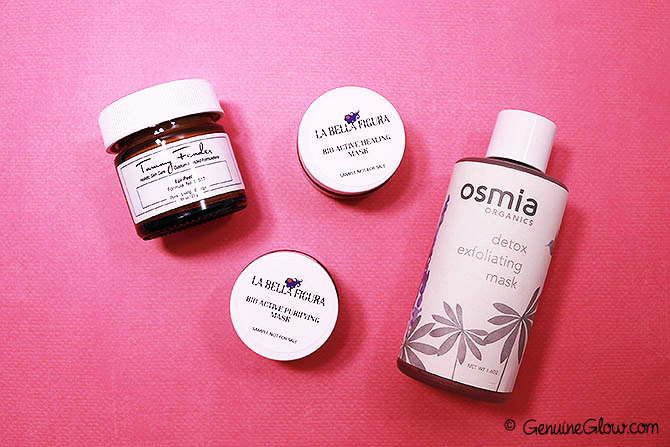 Best Natural/Organic Face Masks