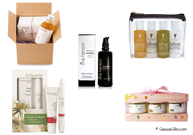 Green Beauty Holiday Gift Ideas Body Care