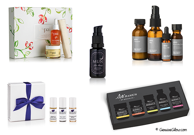Green Beauty Holiday Gift Ideas - Skin Care