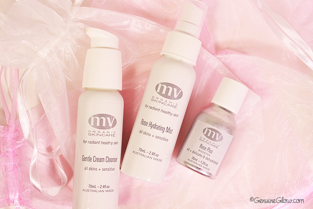 MV Skincare Gentle Cream Cleanser, Rose Hydrating Mist, Rose Plus, Reviews