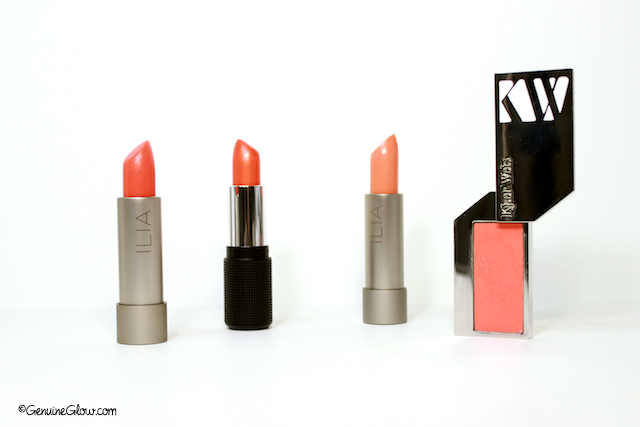Orange Lipsticks Orange Lip Trend Genuine Glow Organic Natural Green Beauty