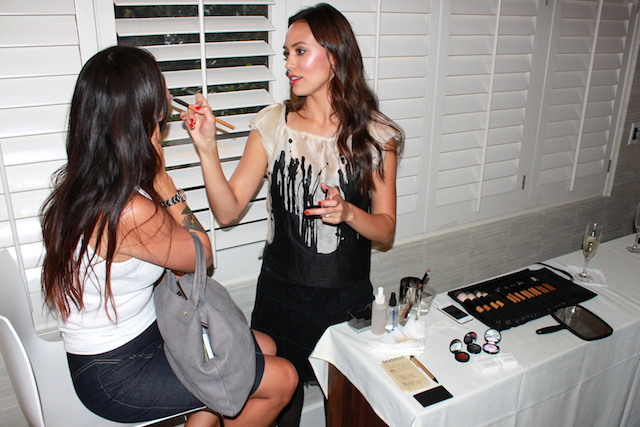 ANFGB A NIght For Green Beauty 2014 Los Angeles Megan Porshen
