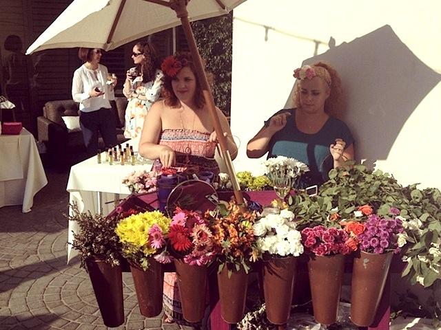 flower crown making #anfgb