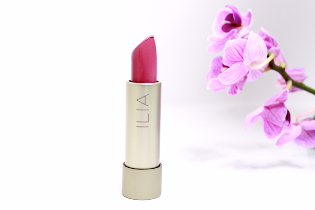 ilia beauty, ilia beauty lipstick, ilia beauty swatch