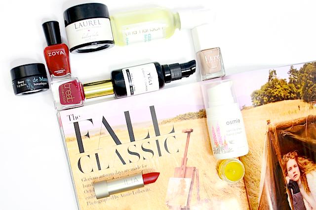 beauty fall essentials 2014