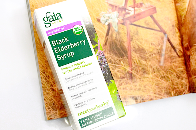 gaia black elderberry syrup