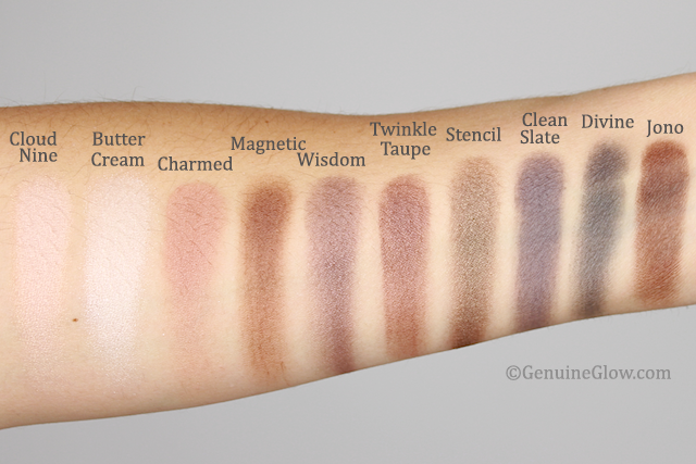 Favorite Eyeshadows Swatches copy