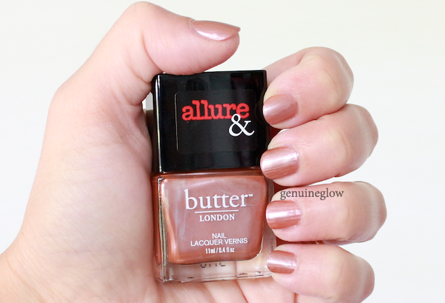 Butter London I'm on the list Text