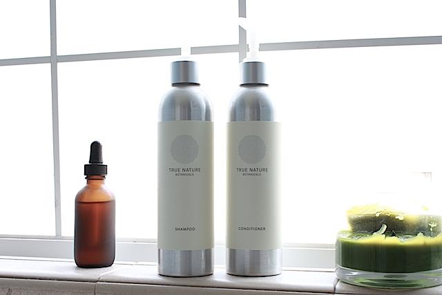 True Nature Botanicals shampoo & conditioner