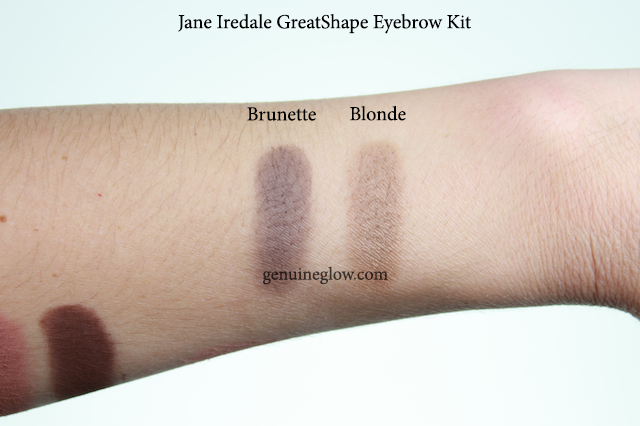 Jane Iredale GreatShape Eyebrow Kit Swatches Review