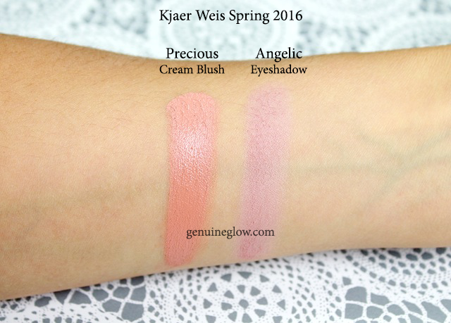 Kjaer Weis Precious Angelic Swatches