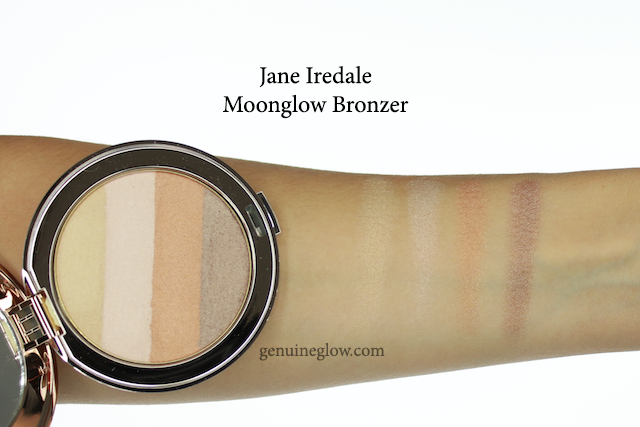Jane Iredale Moonglow Bronzer Swatches Reviews