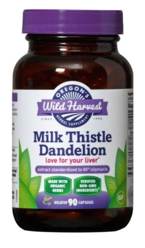 Milk Thistle Dandelion Capsules