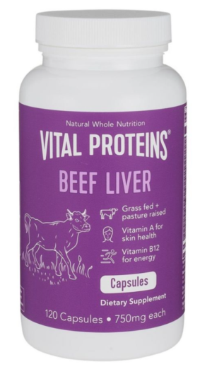 Beef Liver Capsules