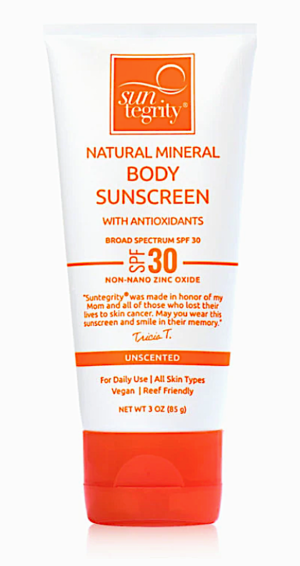 mineral body sunscreen (fragrance-free)